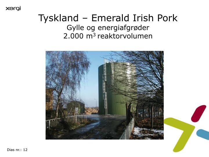 Tyskland – Emerald Irish Pork