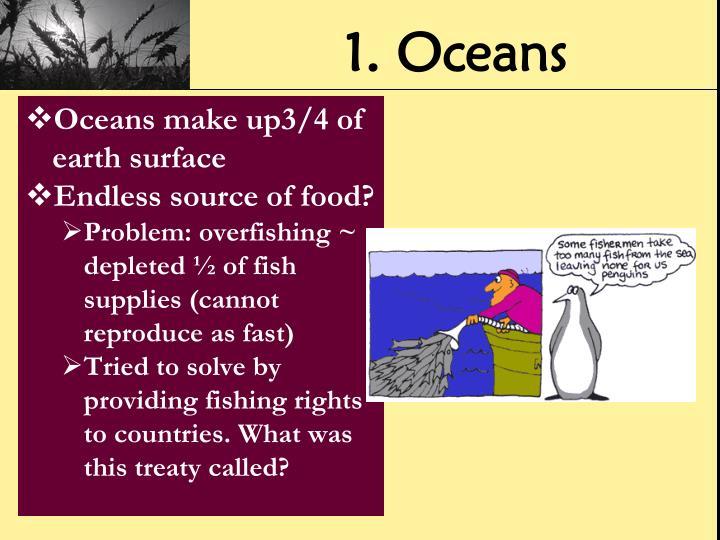 1. Oceans