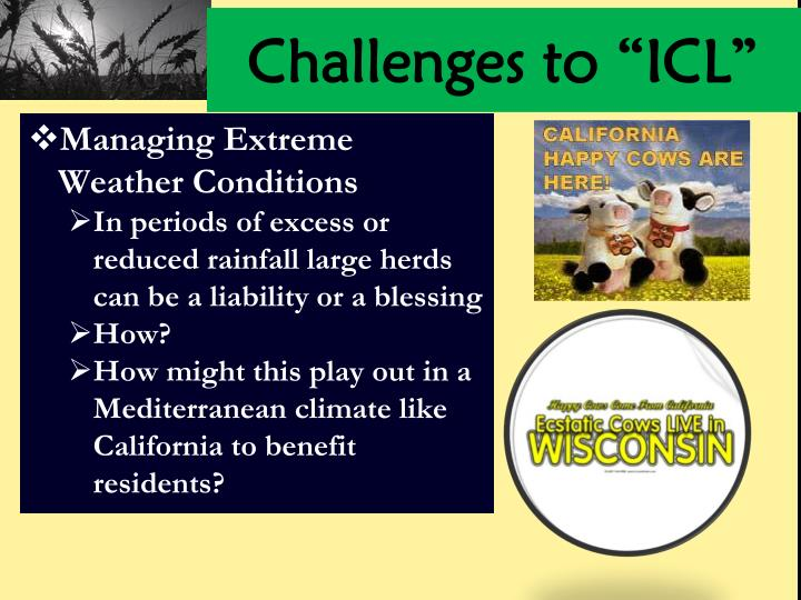 "Challenges to ""ICL"""