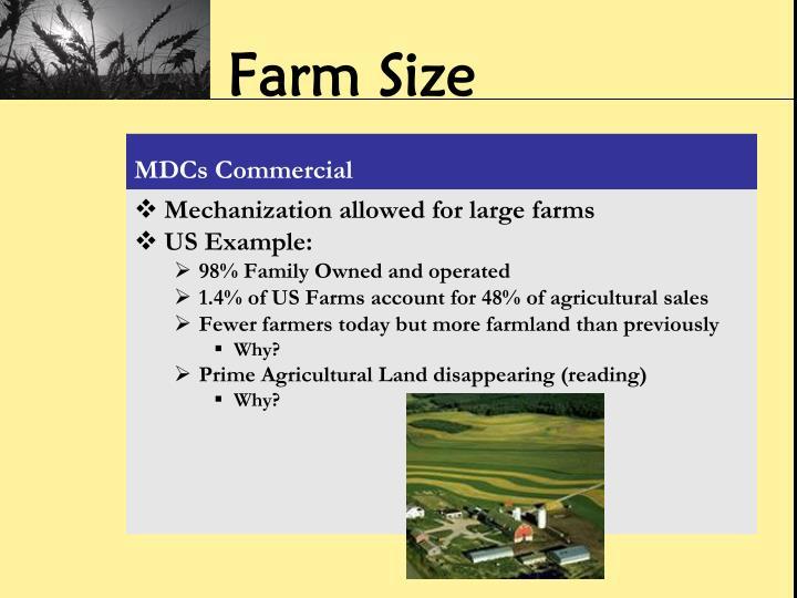 Farm Size