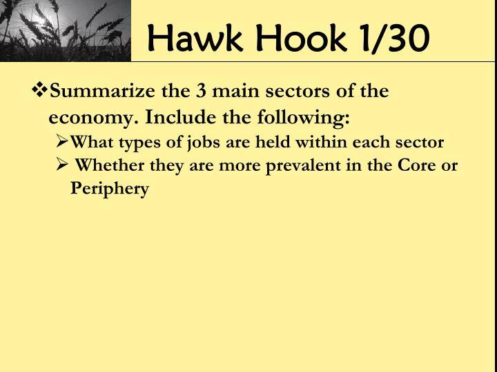 Hawk Hook 1/30