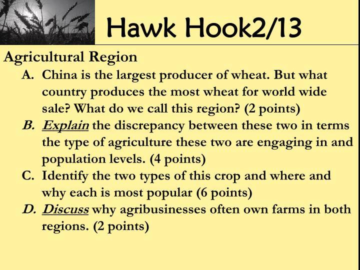 Hawk Hook2/13