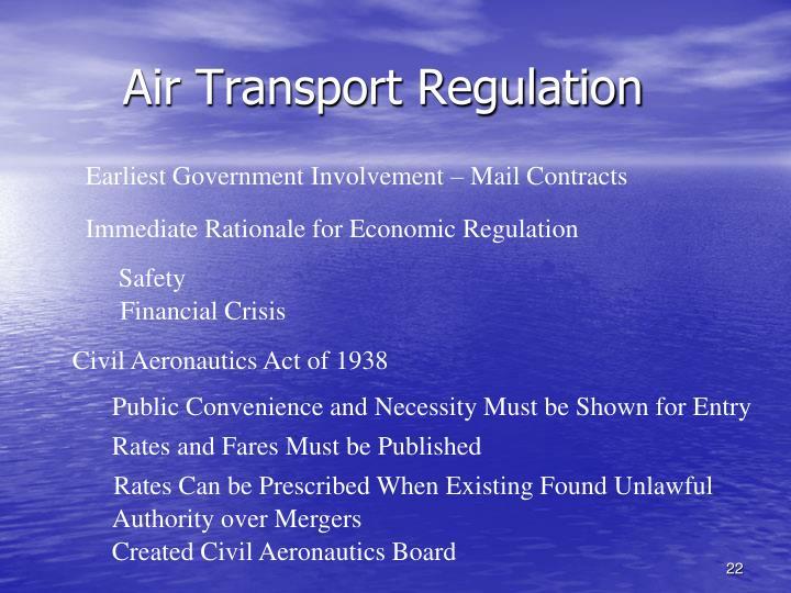 Air Transport Regulation