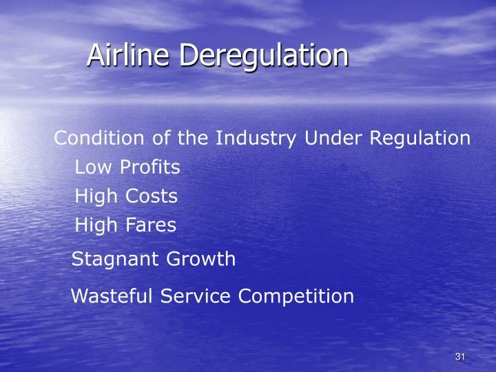 Airline Deregulation