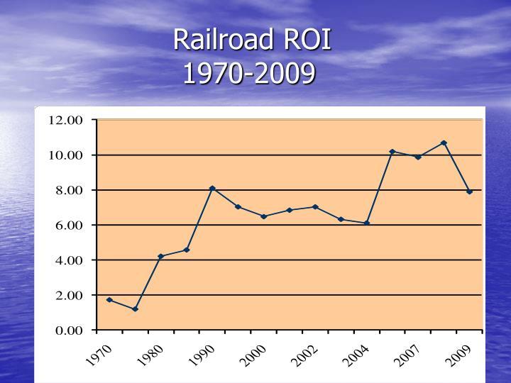 Railroad ROI