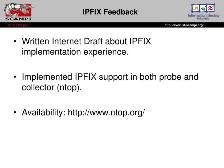 IPFIX Feedback