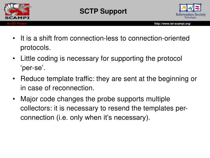 SCTP Support