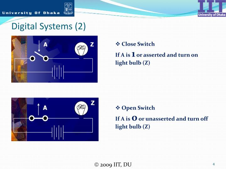 Digital Systems (2)