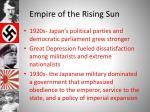 empire of the rising sun