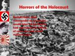horrors of the holocaust