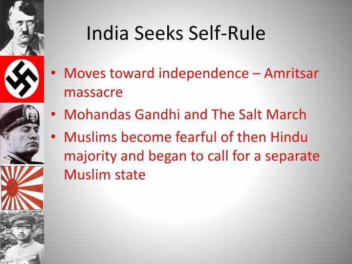 India Seeks Self-Rule