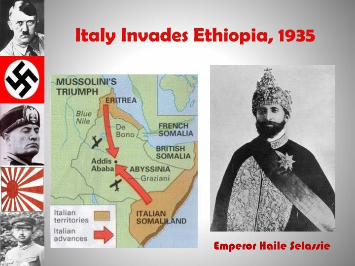 Italy Invades Ethiopia, 1935