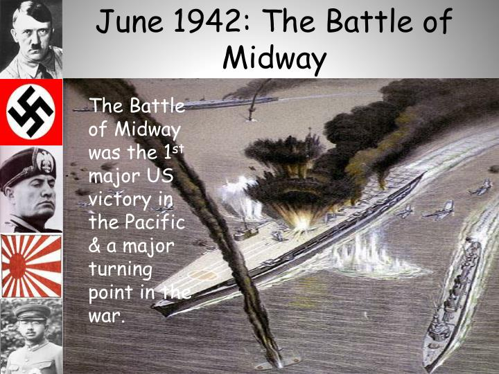 June 1942: The Battle of Midway