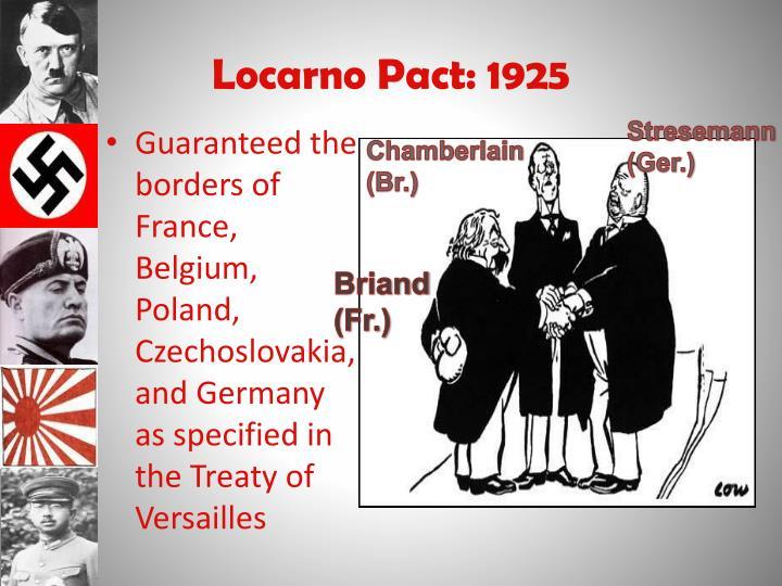 Locarno Pact: 1925