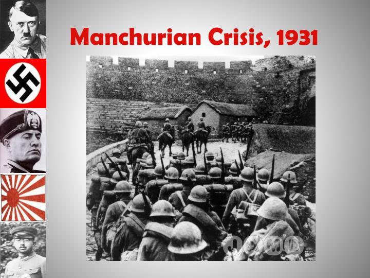Manchurian Crisis, 1931