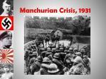 manchurian crisis 1931