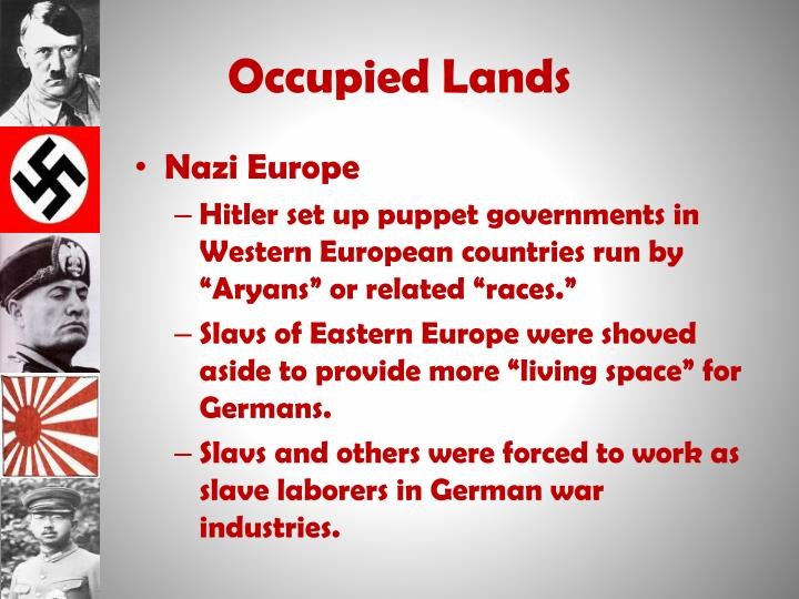 Occupied Lands