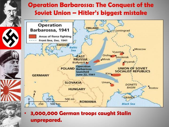 Operation Barbarossa: The Conquest of the Soviet Union – Hitler's biggest mistake