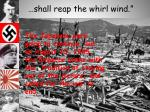 shall reap the whirl wind