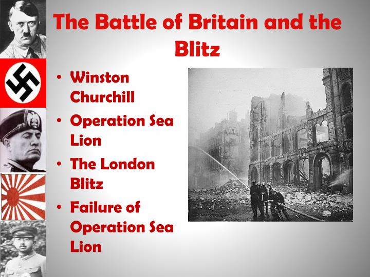 The Battle of Britain and the Blitz