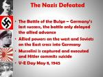 the nazis defeated