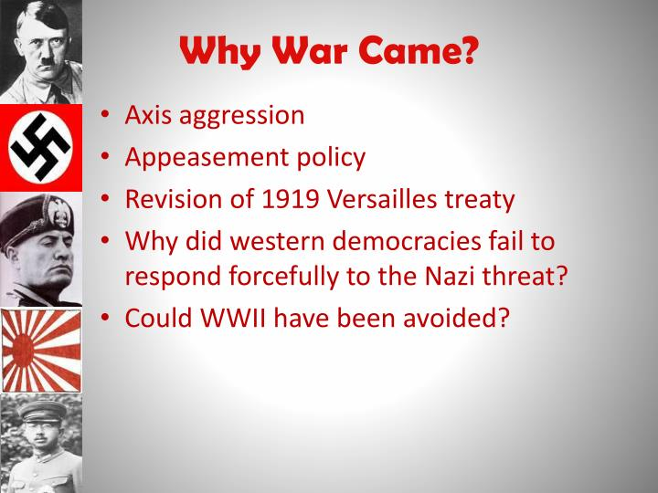 Why War Came?