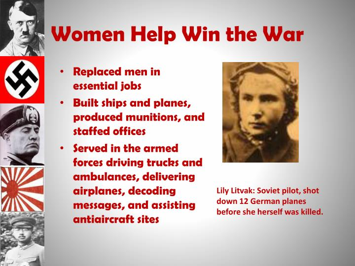 Women Help Win the War