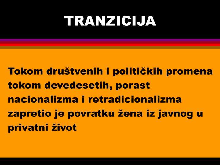 TRANZICIJA