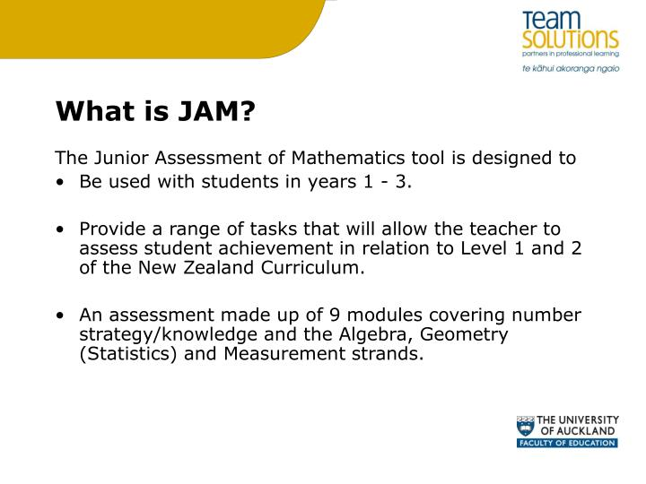 What is JAM?
