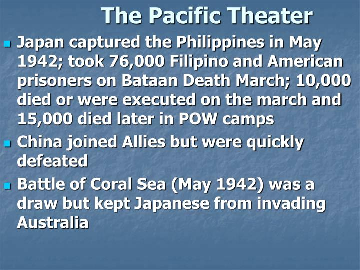 The Pacific Theater