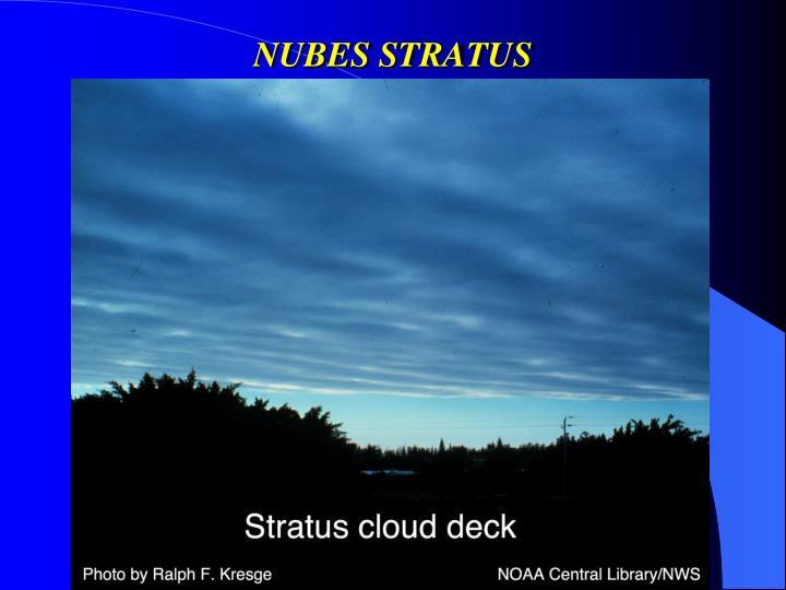 NUBES STRATUS