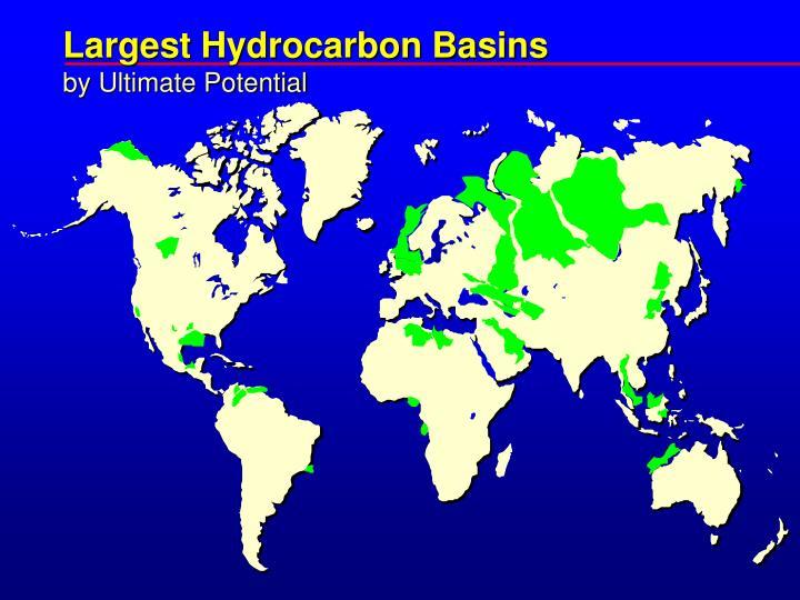 Largest Hydrocarbon Basins