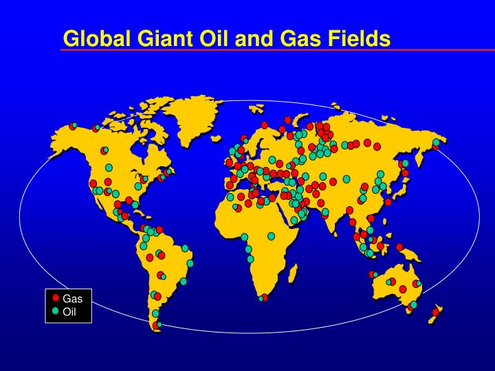 Global Giant Oil and Gas Fields