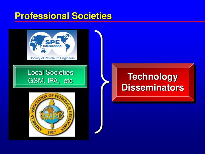 Professional Societies