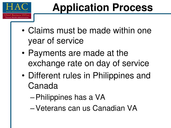Claims must be made within one year of service
