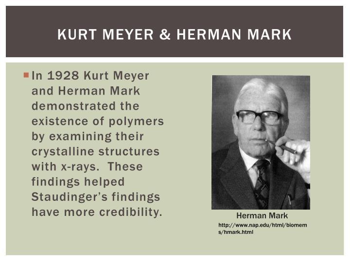 Kurt Meyer & Herman Mark
