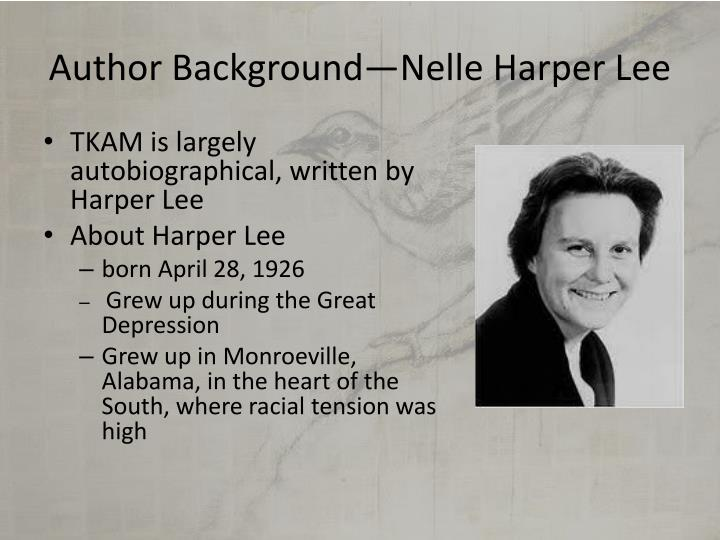 Author background nelle harper lee