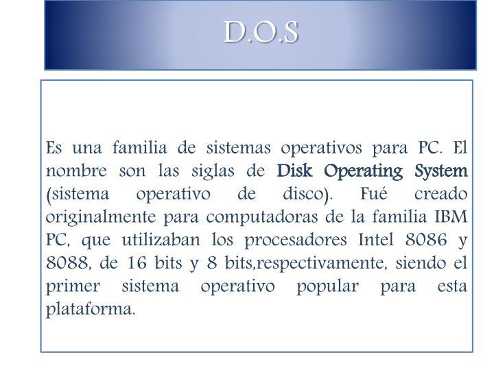 D.O.S