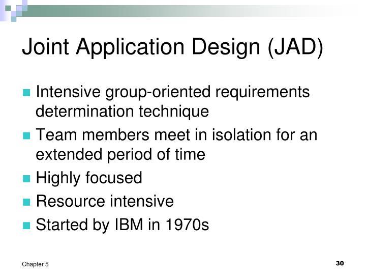 Joint Application Design (JAD)