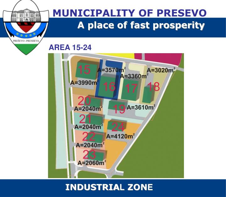 MUNICIPALITY OF PRESEVO