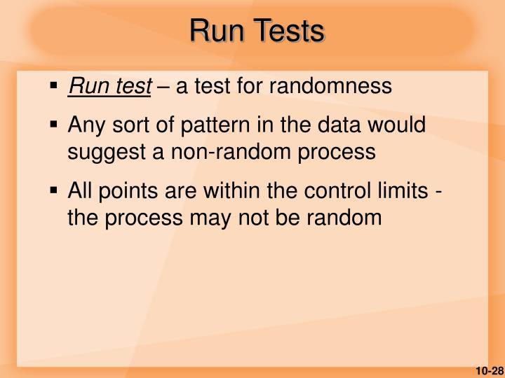 Run Tests