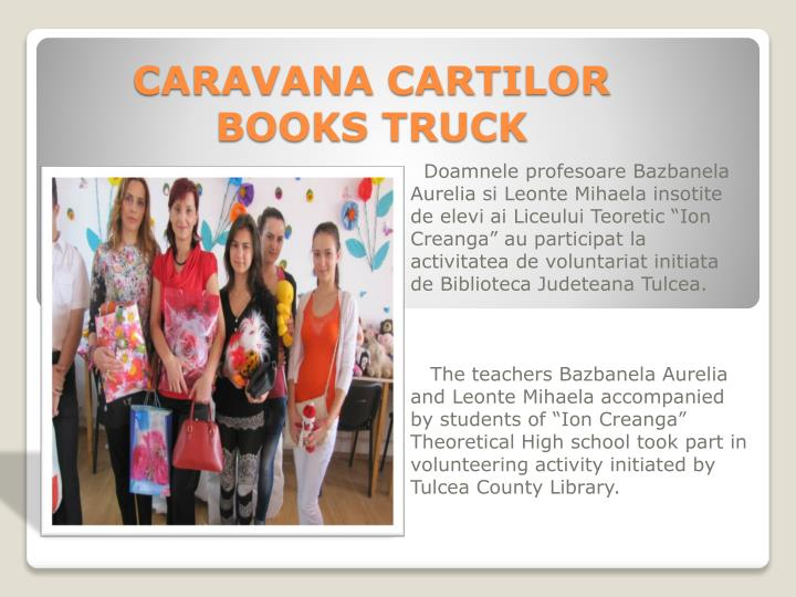 CARAVANA CARTILOR