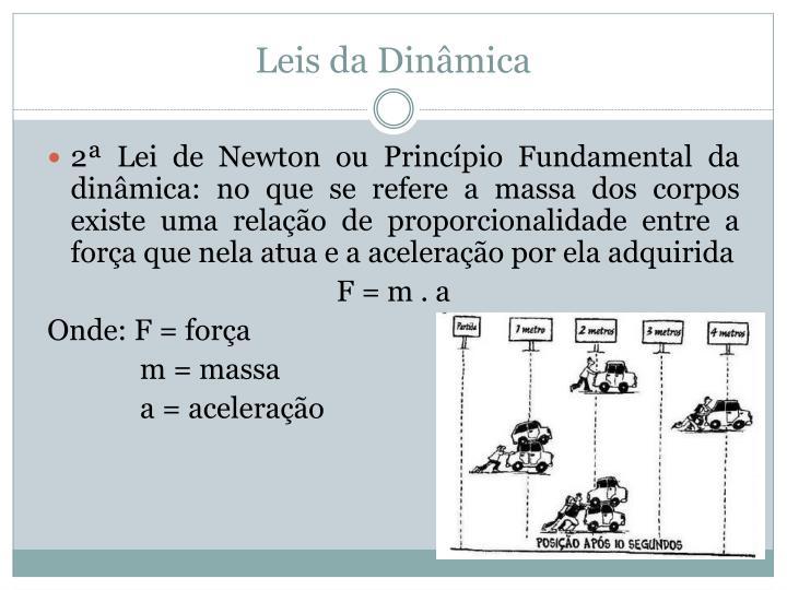 Leis da Dinâmica