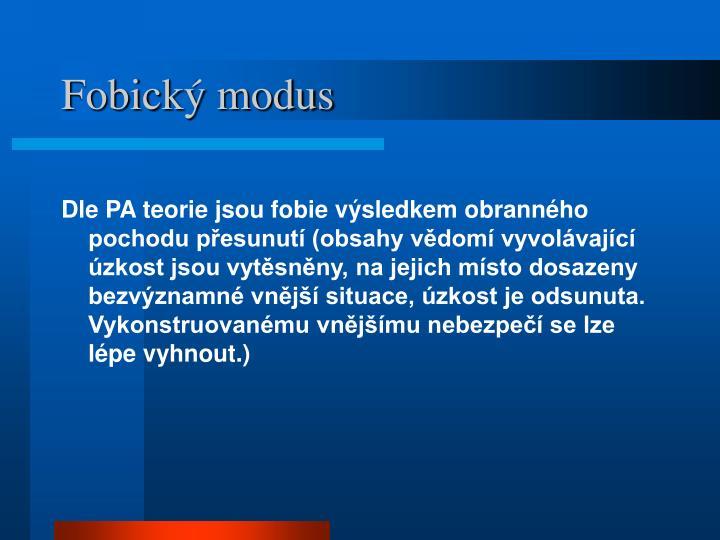 Fobický modus