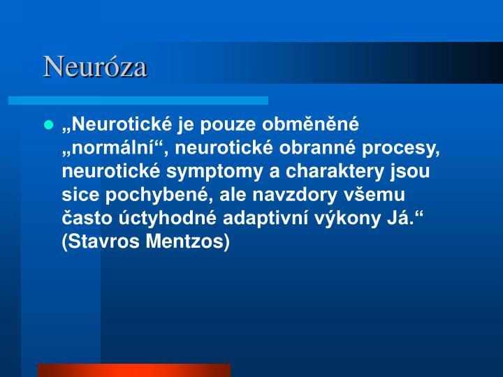 Neuróza
