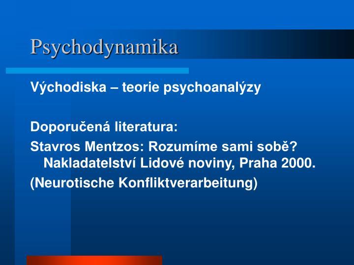 Psychodynamika