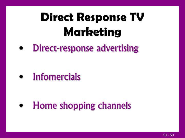 Direct Response TV Marketing