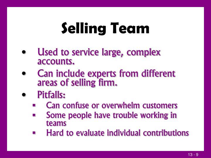 Selling Team