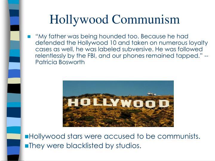 Hollywood Communism