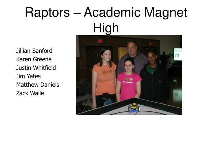 Raptors – Academic Magnet High